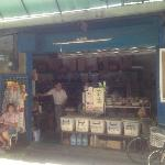 The traditional grocery store nearby. This type of store is almost extinct in Taipei. Many Movie