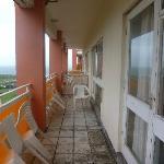 Yucky balcony