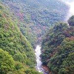 綾の照葉大吊橋・・・峡谷の景観は絶景