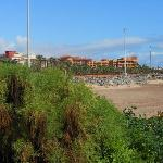 Hotel & beach from promanade
