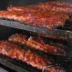 Slow smoked ribs with our own recipe!