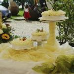 splendida torta nuziale