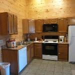 Kitchen in Cabin