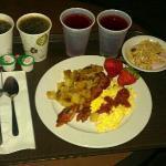 Free quality breakfast.