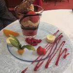 Hotel restaurant - dessert delicious!