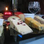 Selection of Cheeses with Port