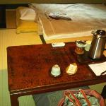 tea served in room