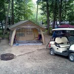 my campsite. Aug. 2012