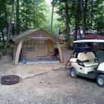 my campsite. Aug. 2012