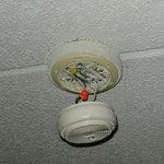 Brandvarnare i vårt rum