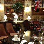 Lobby during tea.