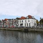 Along the bank of Den Bosch