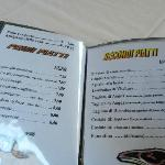 menu' prezzi