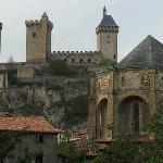El castillo desde el comedor de Phoebus