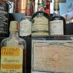 "prohibition era prescription and ""medicine"" bottle"