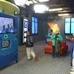 Record your own weather forecast in the new Earth systems studio, Our Marvelous Earth.
