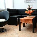 Loungebereich im City Hotel Chemnitz