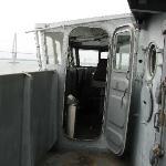 The bridge aboard the Yorktown