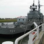 USS Laffey, a destroyer class vessel