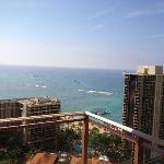 ラナイからの海の景色