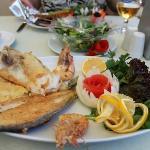 Mixed fish plate