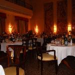 sala da pranzo: cena delle candele