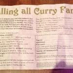 calling all curry fans