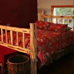 Master bedroom bed.