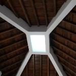 Ceiling in room 407