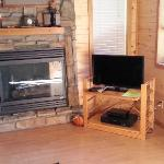 TV worked great... fireplace didn't.