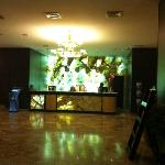 The entrance, reception