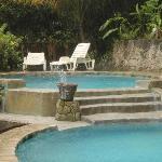 the upper pools