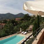 la vue de la terrasse du restaurant