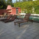 Même en octobre il fait bon se baigner à la Garrigue!!