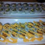 California Roll and Veggie Crunch Roll