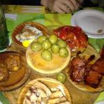 Tapas selection - choice of 18 dishes - gorgeous