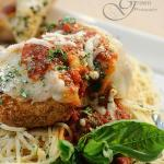 Chicken Parm Topped w. Mamma's Famous Red Sauce