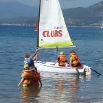 Kids Club in Pico Dinghies