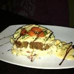ricotta meatloaf with great mashed potatoes