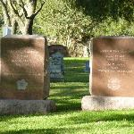 Lyndon B. Johnson / Lady Bird Johnson Tombstones