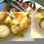 Stone Crab, cold with a very nice dipping sauce