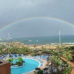 First Day - Rainbow From Room