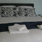 Very comfortable king size double bed