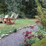 Many quiet, comfortable seating areas around the property