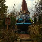The world's largest gnome