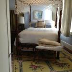 Queen bedroom in Carriage House
