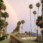 Rainbow by Amtrak / Pier