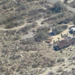 Our rancho as seen from the air