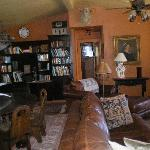 The lodge's living room