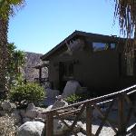 Our lodge overlooks the north face of Mt San Jacinto!